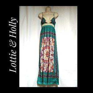 Lottie & Holly Band of Gypsies Boho Sundress XS/S